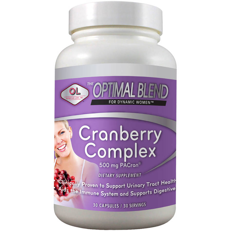 Olympian Labs-Optimal Blend-Cranberry, 30ct