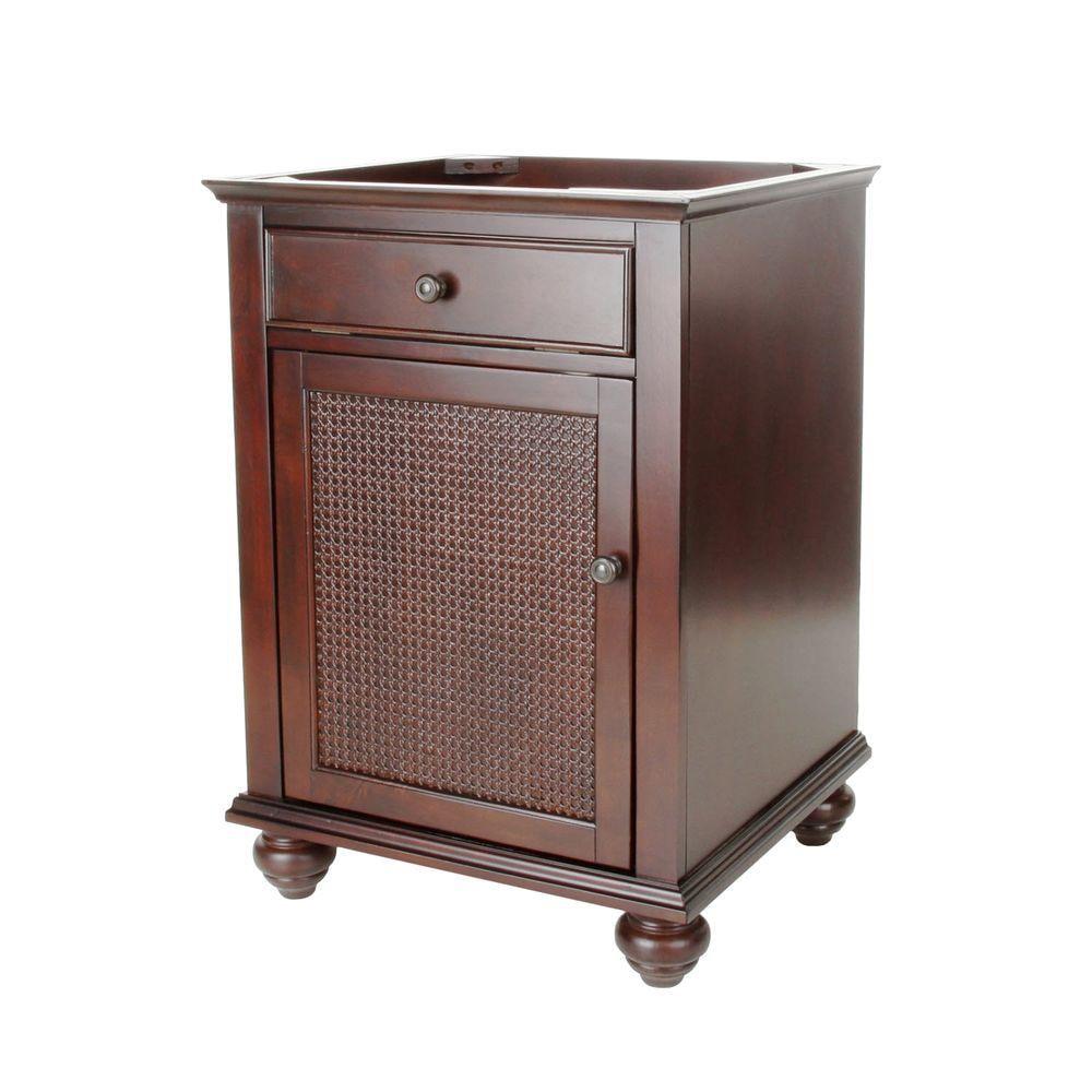 Pegasus F10 AE 002 1A Bimini 24 Inch Vanity Cabinet Only, Espresso
