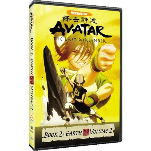 Avatar - The Last Airbender: Book 2: Earth - Volume 2 (Full Frame)
