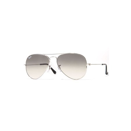 Ray-Ban Unisex RB3025 Classic Aviator Sunglasses, (Amazon Ray Ban Aviator Small)