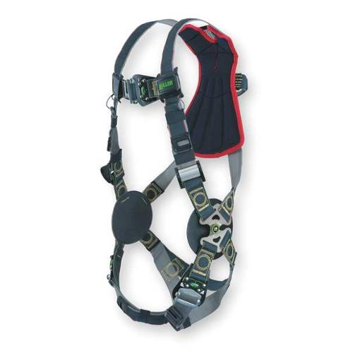 Miller By Honeywell Full Body Harness, Black RKNAR-QC/UBK
