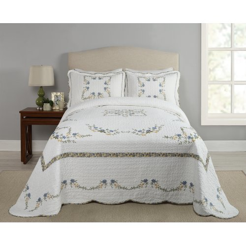 August Grove Holsey Heather Bedspread