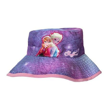 Disney - Hat - Disney - Frozen Elsa and Anna Sisters Forever Bucket Cap New  185869 - Walmart.com 99bf0cde058