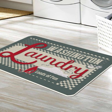 (Personalized Loads Of Fun Laundry Floor Mat , 26.5