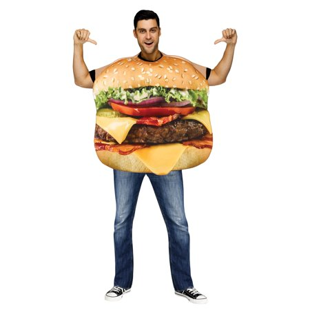 Cheeseburger Adult Costume](Cheese Burger Costume)