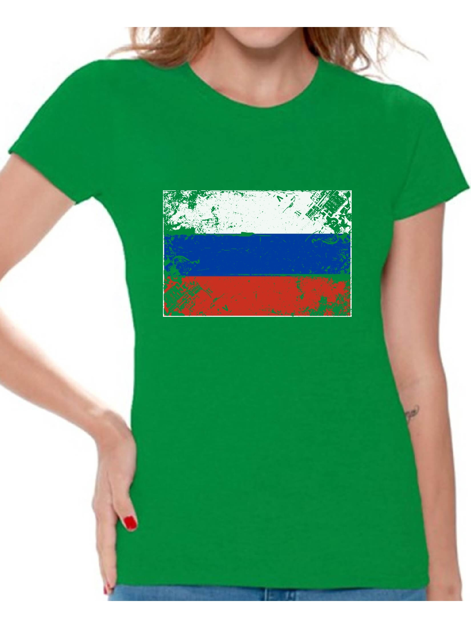 Awkward Styles Russia Flag Shirt For Women Russian Soccer 2018 Tshirt Gifts From Russia Flag Of Russia Russian Women Russia Shirts For Women Russia