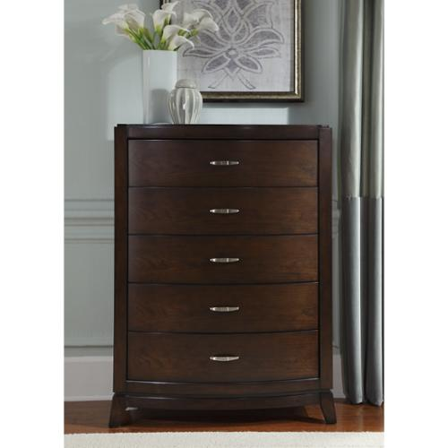 Liberty Avalon Dark Truffle 5-Drawer Chest