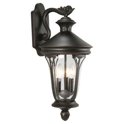 Design House 516757 Corbett Outdoor Downlight - 10.63 x 22.75 in. - Oil Rubbed Bronze Finish