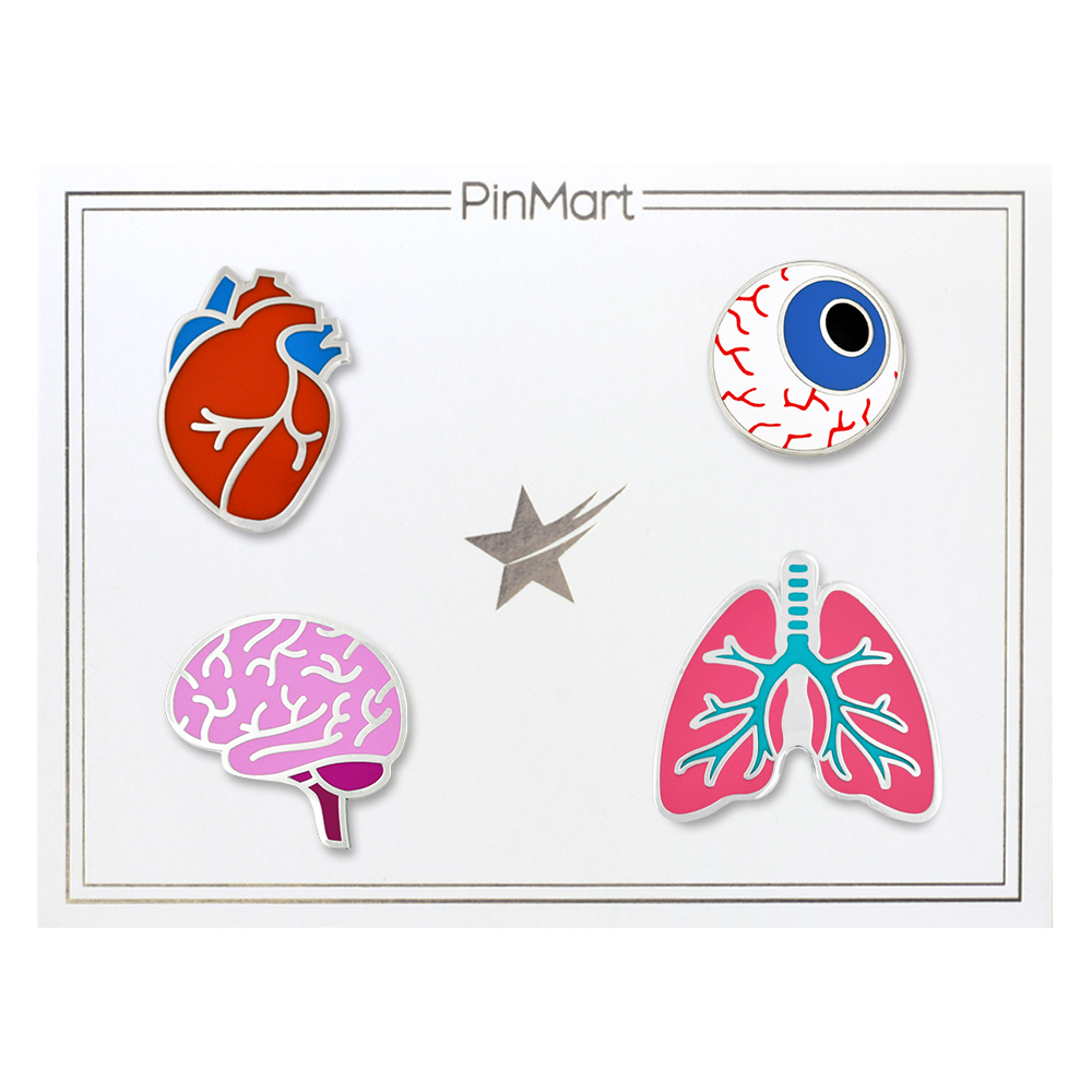 Make Our Human Organs Pin Set The Perfect Gift For Your Favorite Doctor Or  Nurse! PinMartu0027s The Human Organs Medical Halloween Fun Enamel Lapel Pin Set