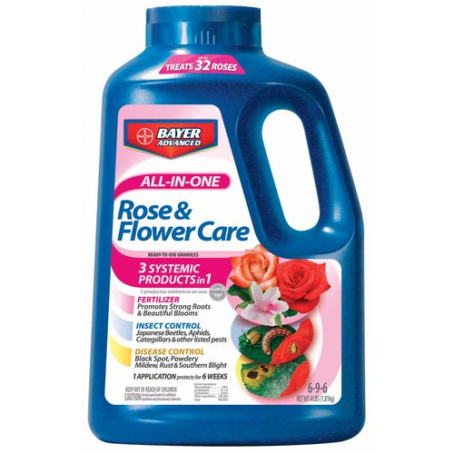 Bayer All-In-One Rose and Flower Care Granules