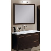 Iotti by Nameeks Integral 39'' Wall-Mounted Single Bathroom Vanity Set with Mirror