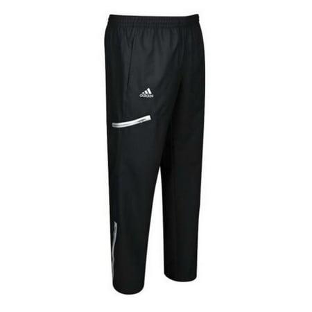 adidas Men's Climaproof Shockwave Woven Pant (Black/White, Large, Regular)