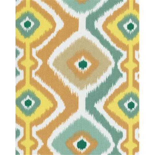 Orien IKMCIT2 Ikat Mesa 100 Percent Polyester Fabric, 54 inch x 2 Yards