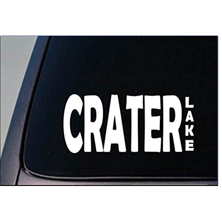 Crater lake Sticker *G857* 8