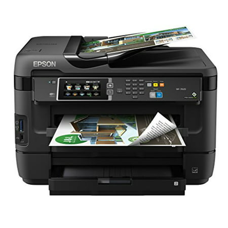 Epson Workforce Wf 7620 Wireless Color All In One Inkjet Printer With Scanner And Copier