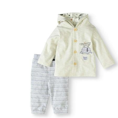 5c64f802b5de Rene Rofe - Baby Newborn Baby Boy or Girl Unisex Hooded Cardigan ...