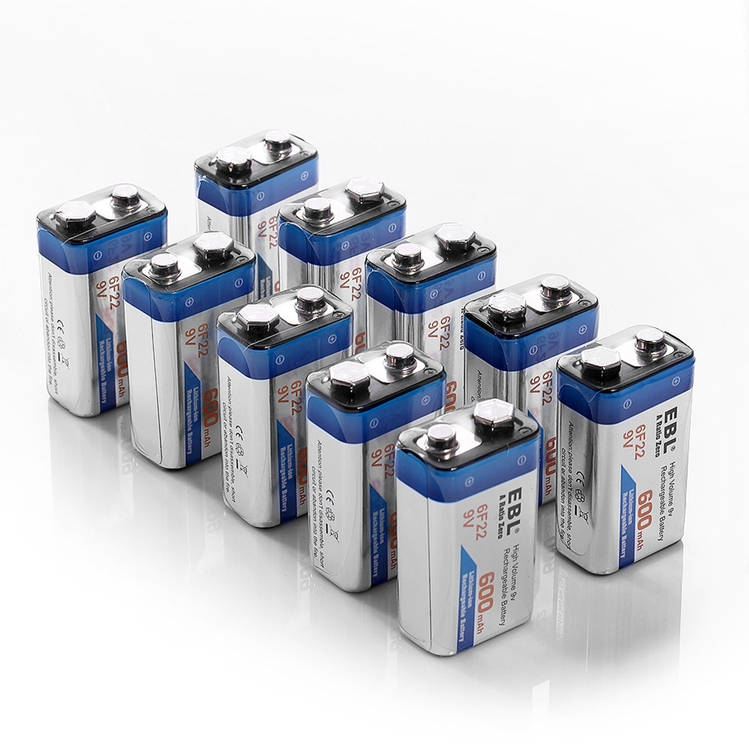 Rechargeable 9v Batteries