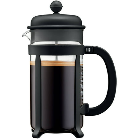 Bodum JAVA French Press Coffee Maker, 8 Cup, 1.0L, 34 oz, Black Bodum 3 Cup Coffee