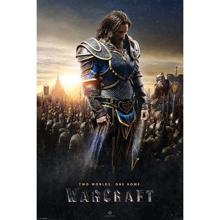 Warcraft   Movie Poster   Print  Lothar   Size  24  X 36
