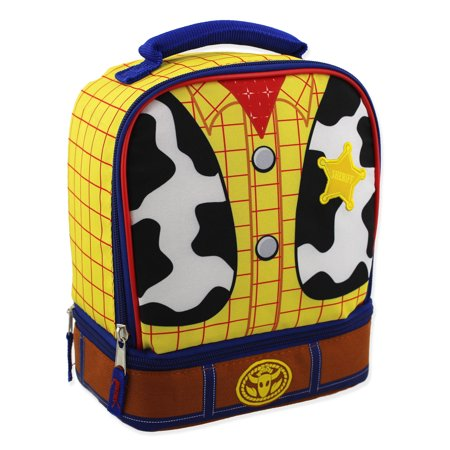 fa4d58292d78 Toy Story Woody Kids Soft Dual Compartment Insulated School Lunch Box  S19DY40586