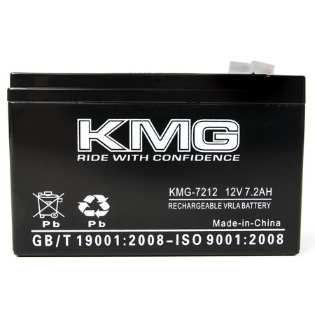KMG 12 Volts 7.2Ah Replacement Battery for Ferno-Ille 1600 - image 1 of 3