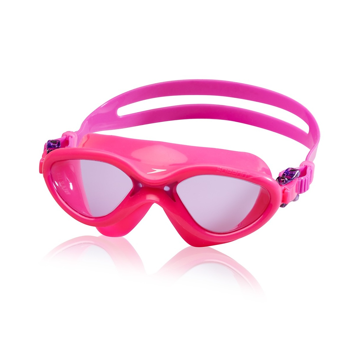 Speedo Kids Hydrospex Classic Swim Mask - Kids Swim Mask - Pink