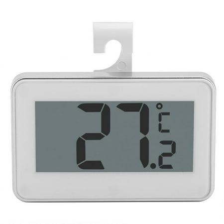 - Yosoo Kitchen Large LCD Refrigerator Fridge Freezer Digital Thermometer with Adjustable Stand& Magnet, Digital Thermometer, Fridge Thermometer