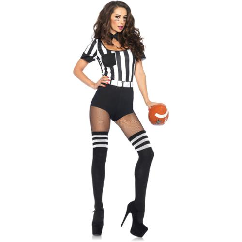 Adult No Rules Referee Sexy Costume - Size M