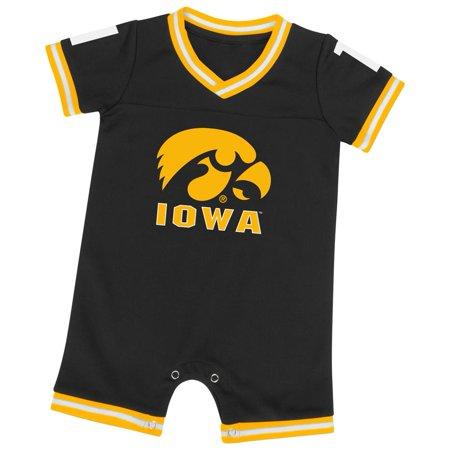 Iowa Hawkeye Baby Clothes - University of Iowa Hawkeyes Infant Romper Baby Boy Jersey Onepiece