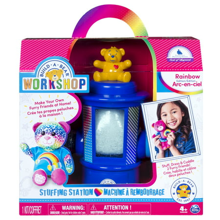 Jointed Mohair Bear (Build-A-Bear Workshop Stuffing Station by Spin Master (Edition Varies))