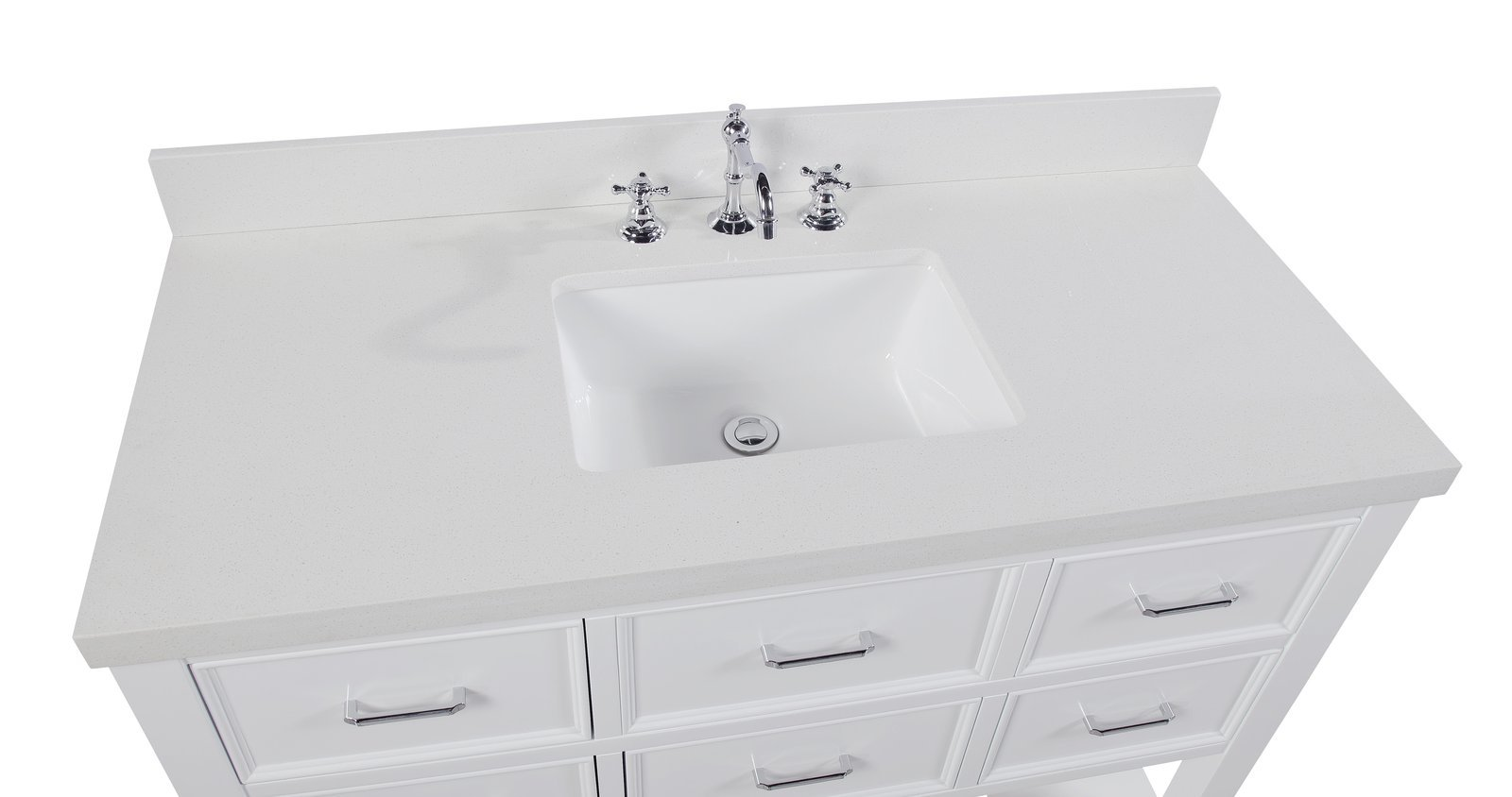 New Hampshire 48 Bathroom Vanity Walmart Com Walmart Com