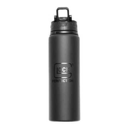 Glock Sport Aluminum Bottle With Logo Black