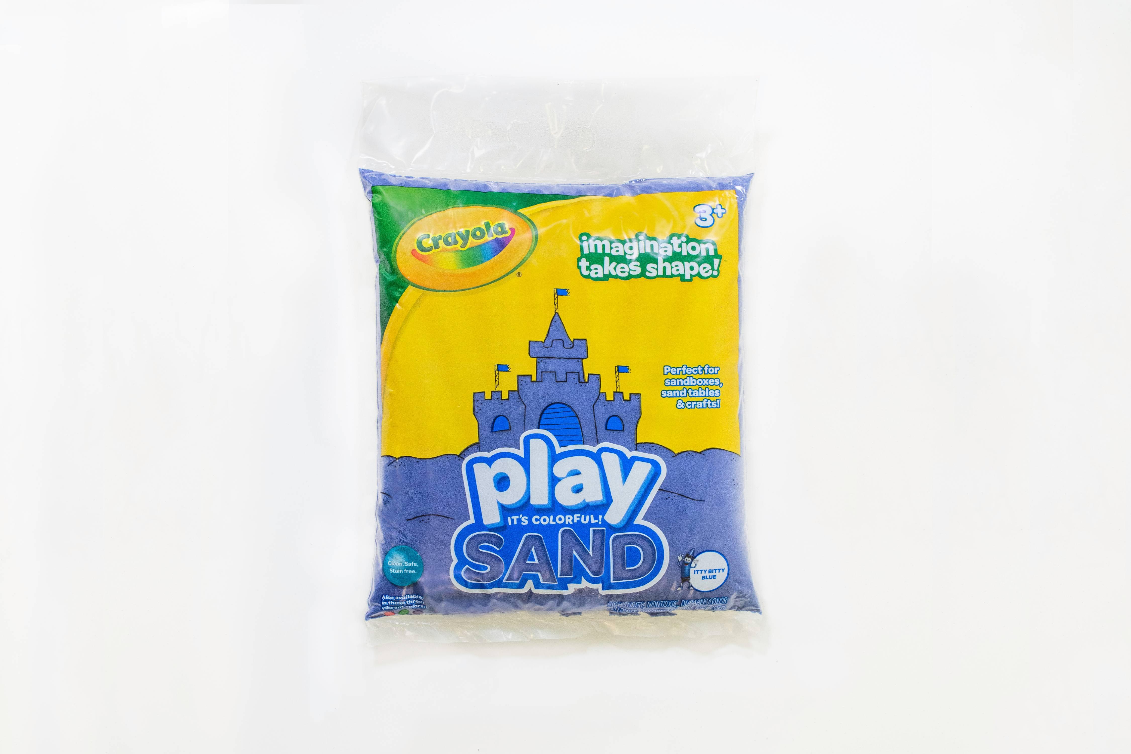 Crayola Play Sand Bag 20 Lb Blue