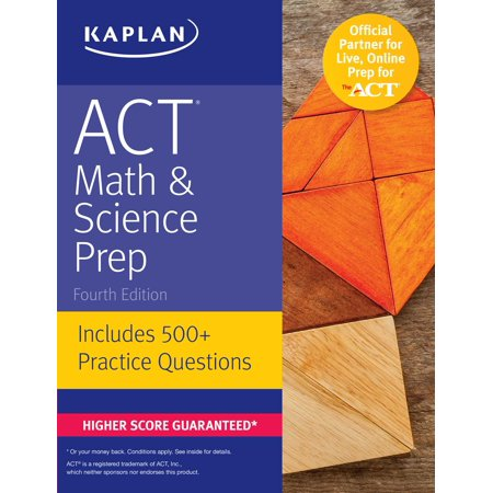 ACT Math & Science Prep : Includes 500+ Practice