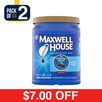 Deals on 2-Pack Maxwell House Original Medium Roast Ground Coffee 42.5 oz