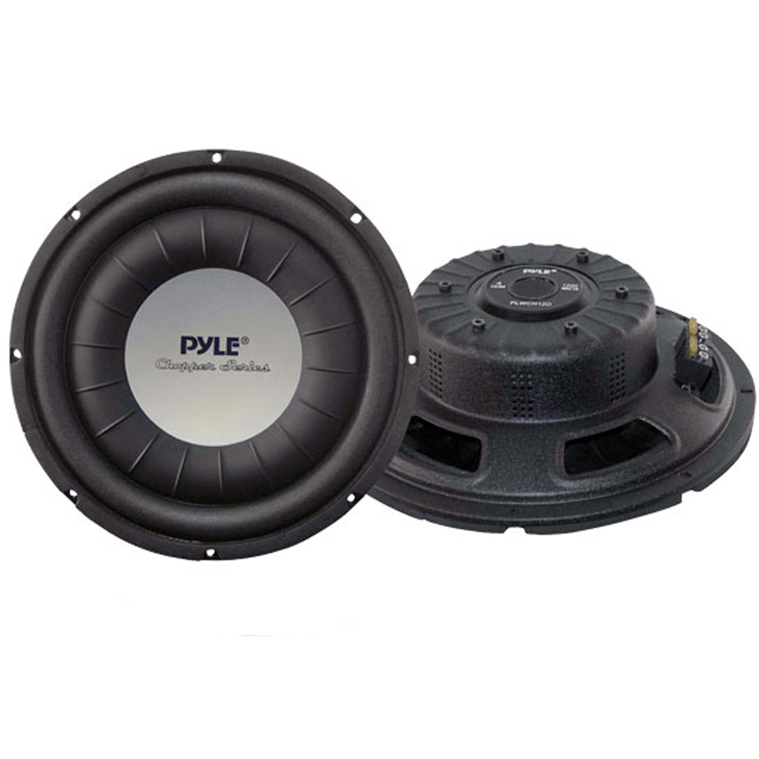 "Pyle 12"" 1200 Watt Ultra Slim DVC Subwoofer"