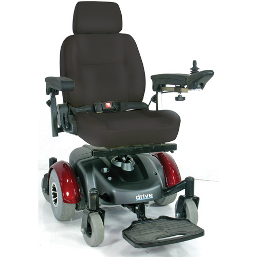 "Drive Medical Image EC Mid Wheel Drive Power Wheelchair, 20"" Seat"