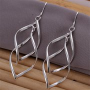Rubique 18K White Silver Inception Earring