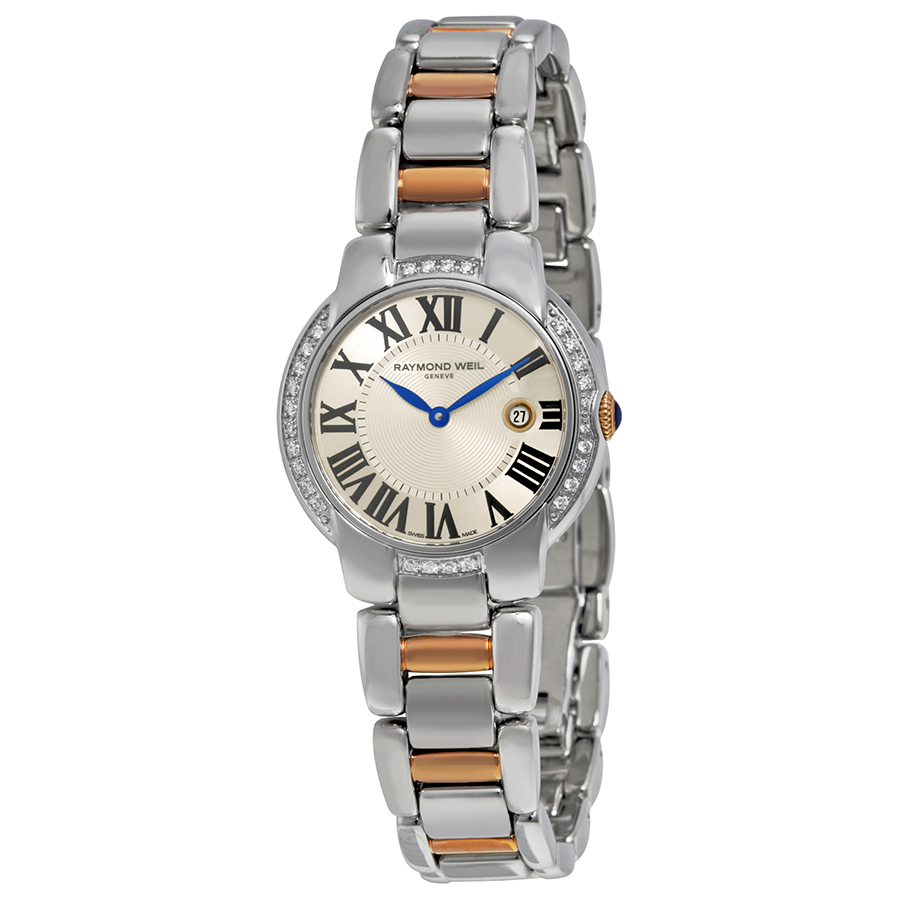 Raymond Weil Jasmine Diamond Silver Dial Ladies Watch 522...