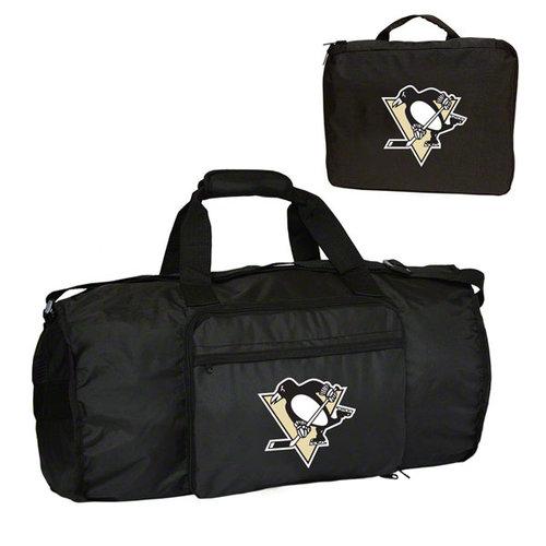 NHL - Pittsburgh Penguins Fold-Away Duffle Bag