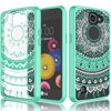 LG K4 Case For Girls, LG Optimus Zone 3/Spree/Rebel LTE Case, Tekcoo [Tflower Series] Transparent Cute Lovely Adorable Ultra Thin Clear Hard TPU Skin Scratch-Proof Bumper Phone Cases Cover -Crystal