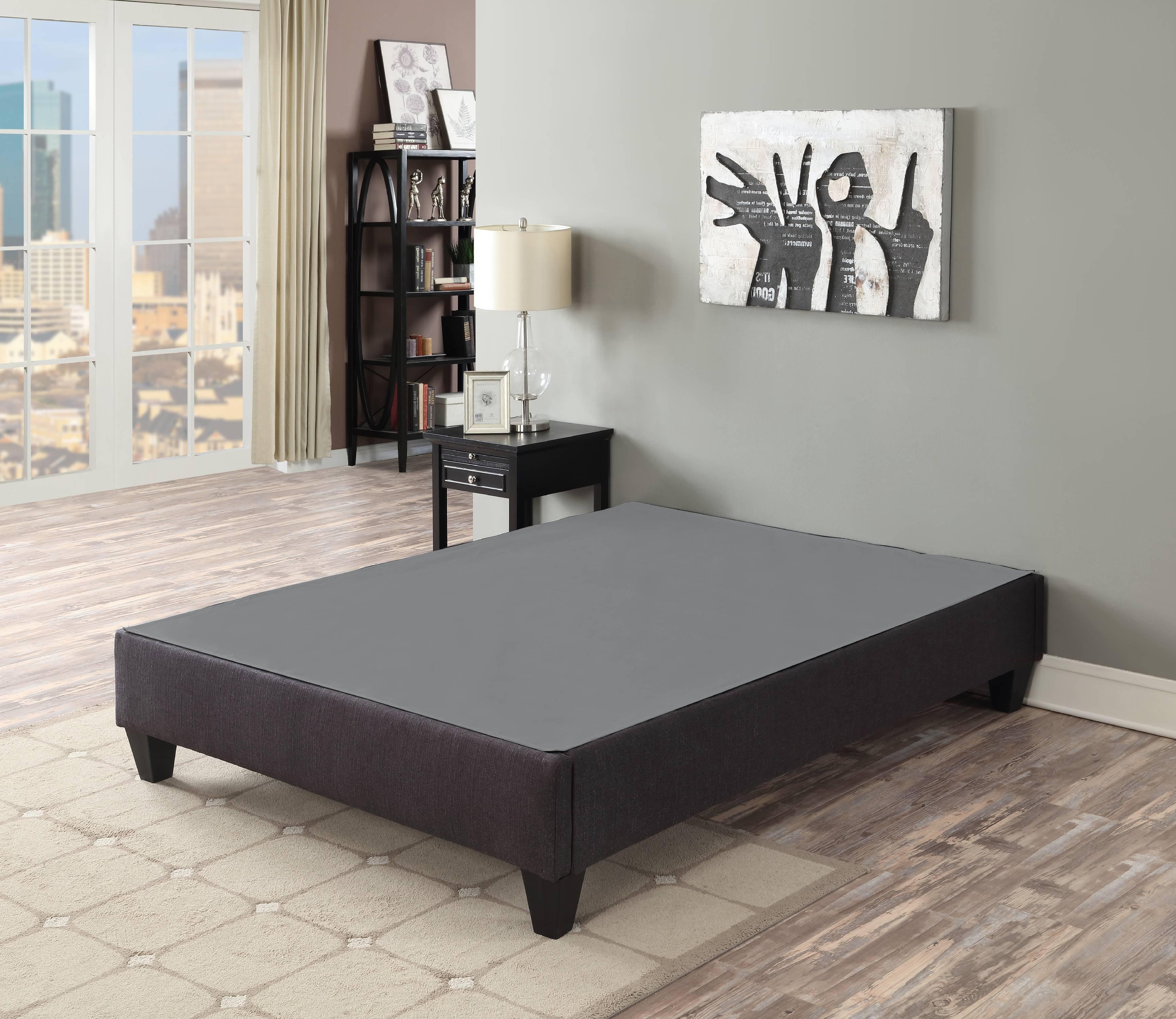 Primo International Carter RTA Upholstered Platform Bed Base, Multiple Sizes by Primo International