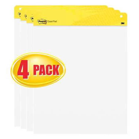 Post It Poster Paper (Easel Pad, White ,Post-It, 559 VAD 4PK )