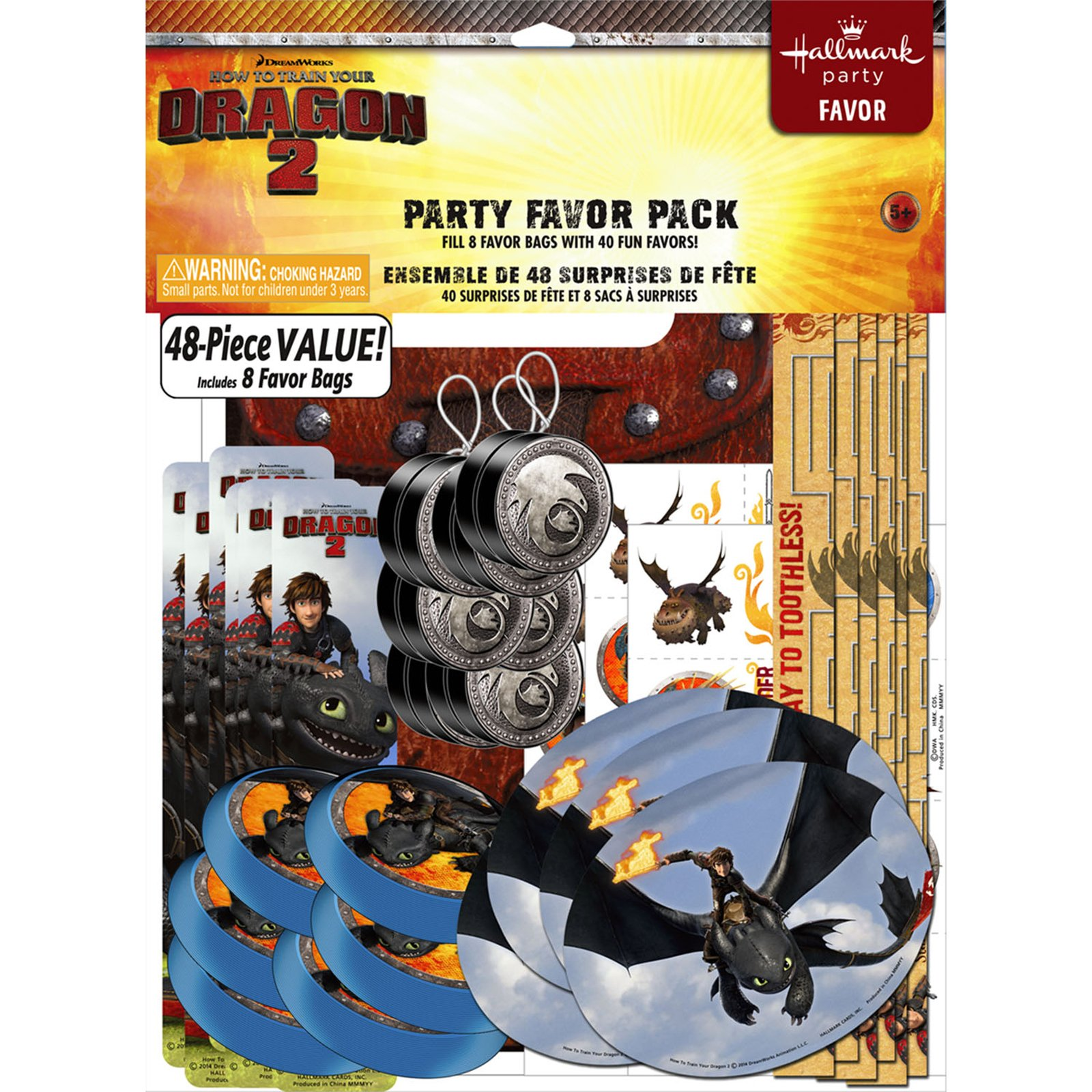 How to Train Your Dragon 2 - Party Favor Value Pack