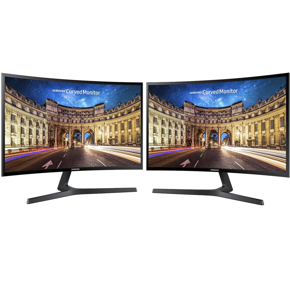 "Samsung C27F398FWN 27"" Screen LED-lit Dual Monitor"