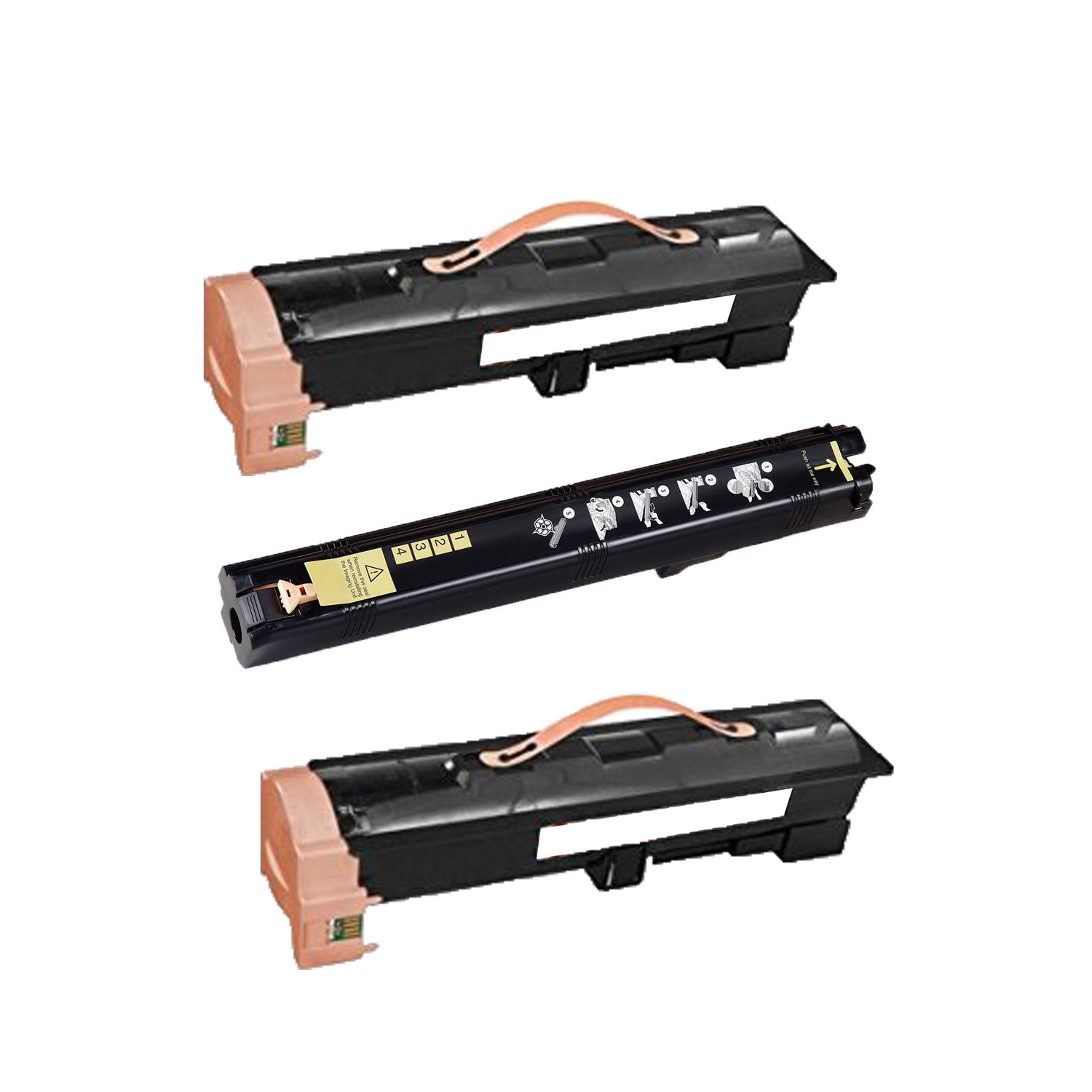 Office Mountain 2-Pack Remanufactured Black Toner & Drum Cartridge Xerox 006R01159 + 013R00591 for Xerox 5325... by Office Mountain