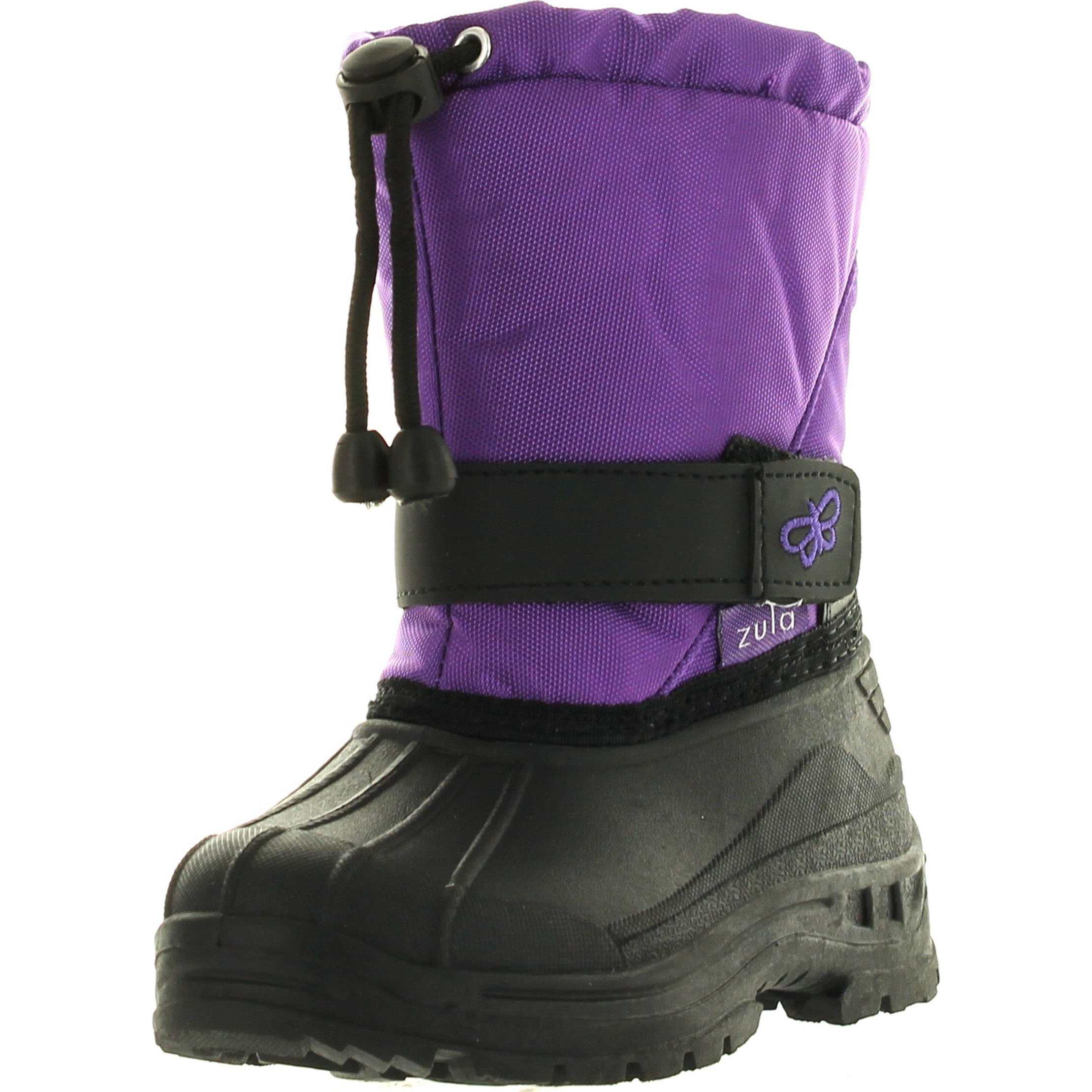 Click here to buy Static Kids BHD-05 Super Cute Butterfly Waterproof Cold Weather Kids Snow Boots by Static Footwear.