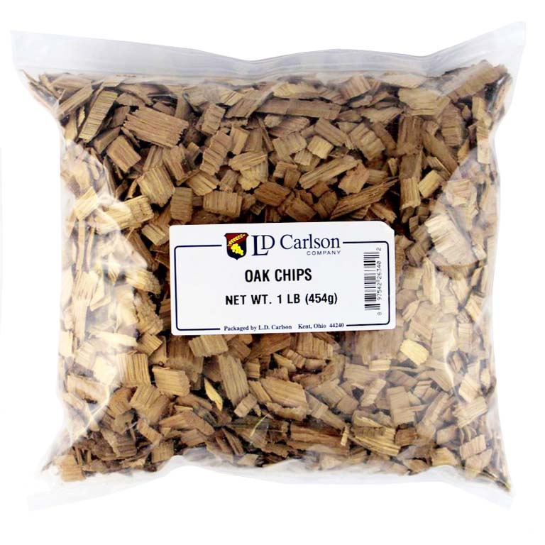 Light Oak Chips - 1 lb.