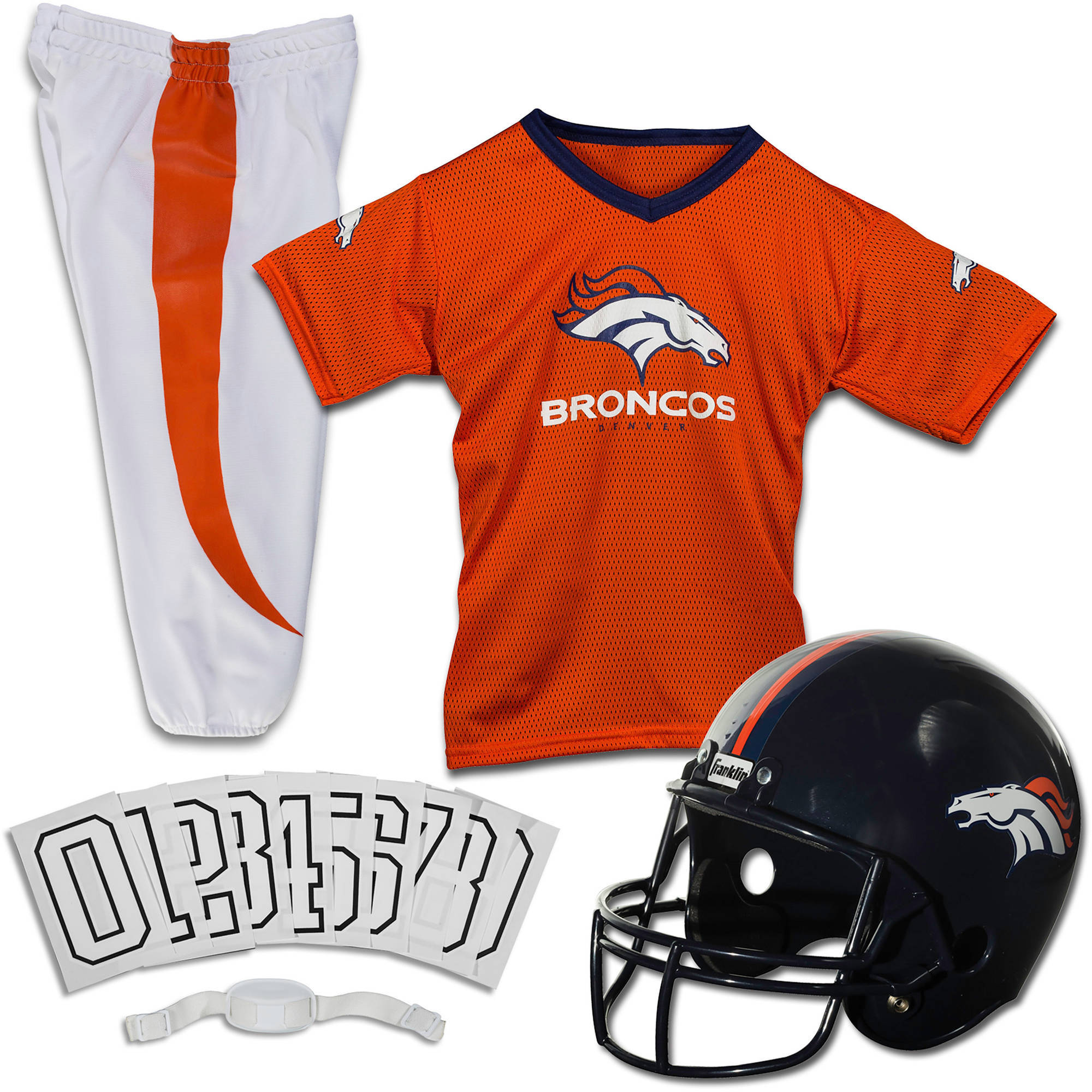 Franklin Sports NFL Youth Licensed Deluxe Uniform Set (Choose Team and Size)