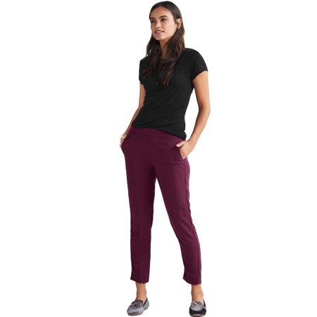 Straight Leg Crop Pant - Ellos Plus Size Cropped Straight Leg Pants